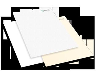 Verschiedenfarbene Briefpapiere