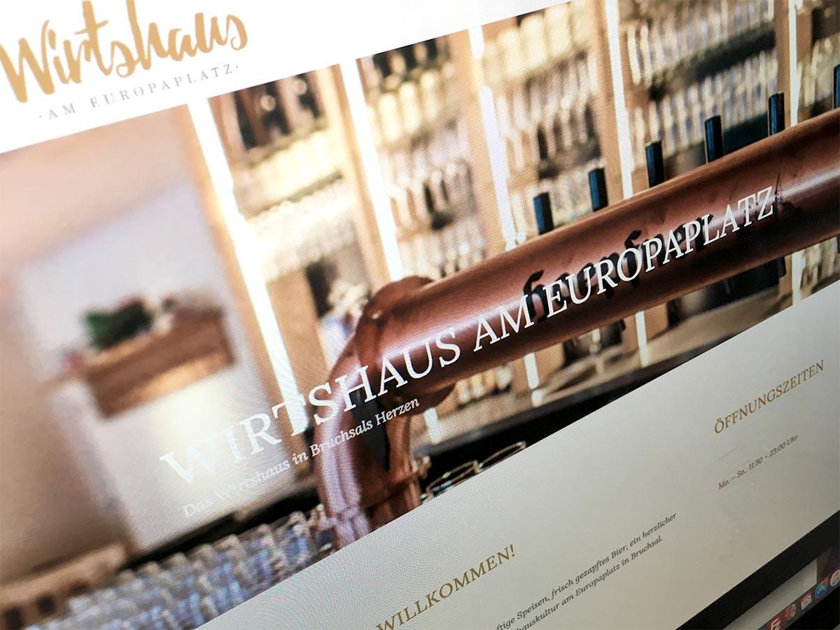 Foto von der Wirtshaus-Website